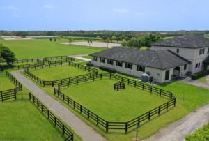 Barn and Paddocks